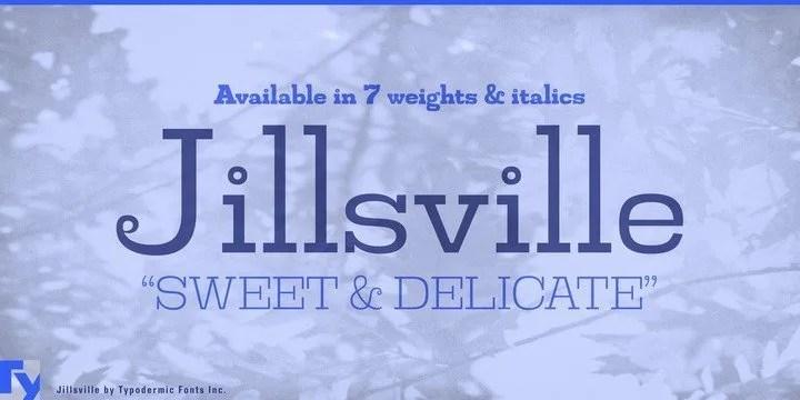 Jillsville [14 Fonts] | The Fonts Master