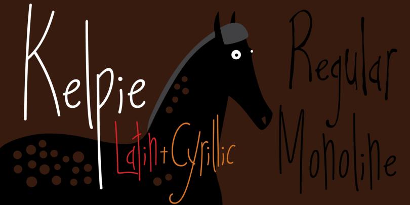 Kelpie [2 Fonts] | The Fonts Master