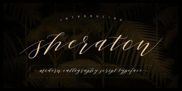 Sheraton Script [1 Font] | The Fonts Master