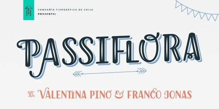 Passiflora [7 Fonts] | The Fonts Master