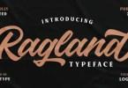 Ragland [1 Font] | The Fonts Master