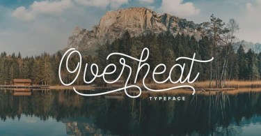 Overheat [1 Font] | The Fonts Master