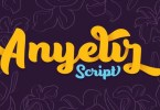 Anyelir Script [10 Fonts] | The Fonts Master