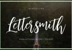 Lettersmith [2 Fonts]   The Fonts Master