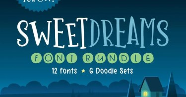 Sweet Dreams Font Bundle [30 Fonts] | The Fonts Master