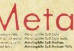 Metallophile Sp8 [4 Fonts] | The Fonts Master