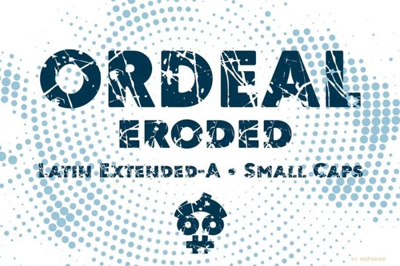 Ordeal Eroded [1 Font] | The Fonts Master