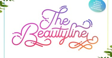 The Beautyline + Extra [1 Font] | The Fonts Master
