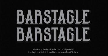 Barstagle [2 Fonts] | The Fonts Master