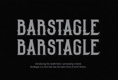 Barstagle [2 Fonts]