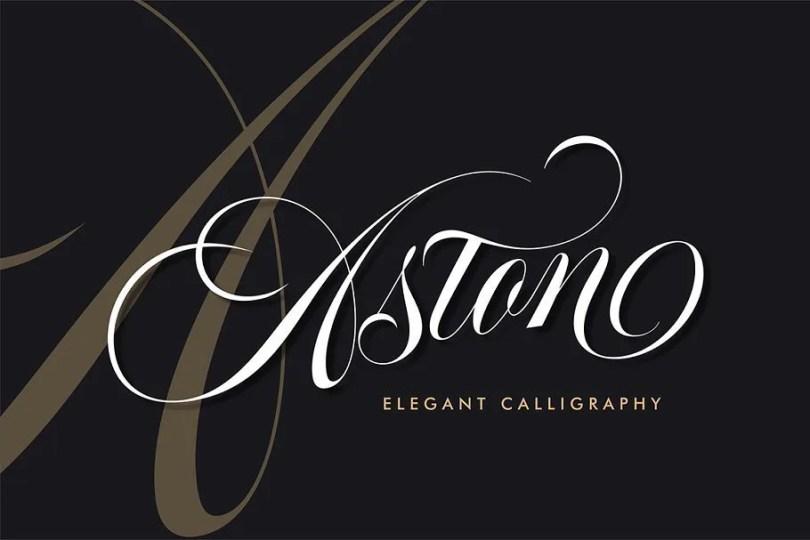 Aston Script [1 Font]   The Fonts Master