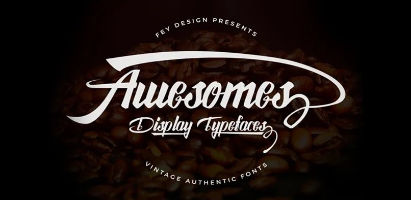 Awesome [4 Fonts] | The Fonts Master
