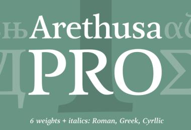 Arethusa Pro Super Family [12 Fonts]