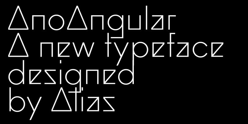 Ano Angular Super Family [3 Fonts] | The Fonts Master