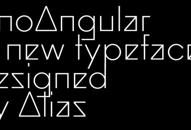 Ano Angular Super Family [3 Fonts]