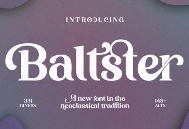 Baltster [1 Font]
