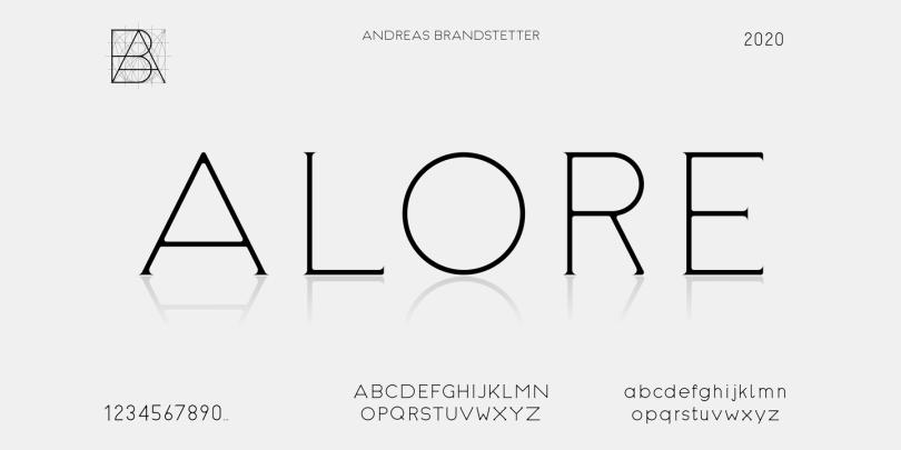 Alore [3 Fonts] | The Fonts Master