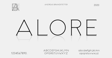 Alore [3 Fonts] | The Fonts Master