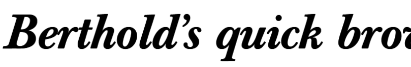Berthold Baskerville Book Super Family [4 Fonts]