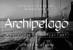 Archipelago [1 Font] | The Fonts Master