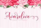 Avarelove Script [1 Font] | The Fonts Master
