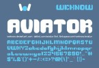 Aviator [6 Fonts] | The Fonts Master