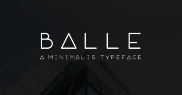 Balle [1 Font] | The Fonts Master