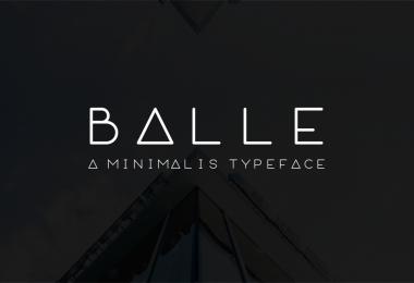 Balle [1 Font]