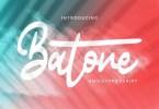 Batone [1 Font] | The Fonts Master