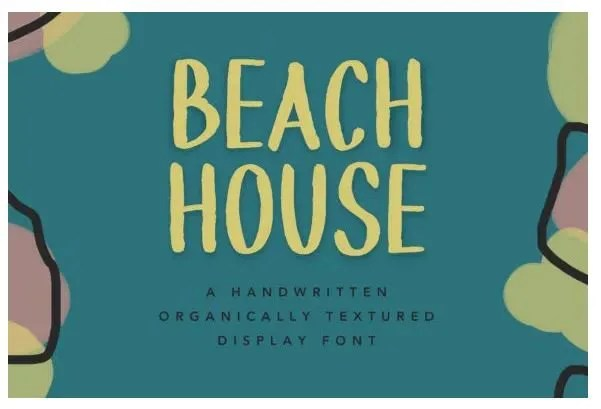 Beach House [1 Font]   The Fonts Master