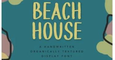 Beach House [1 Font]