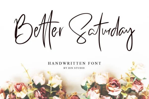 Better Saturday [1 Font] | The Fonts Master