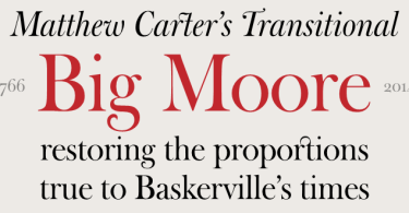 Big Moore [2 Fonts] | The Fonts Master