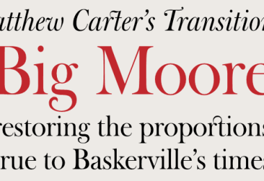 Big Moore [2 Fonts]