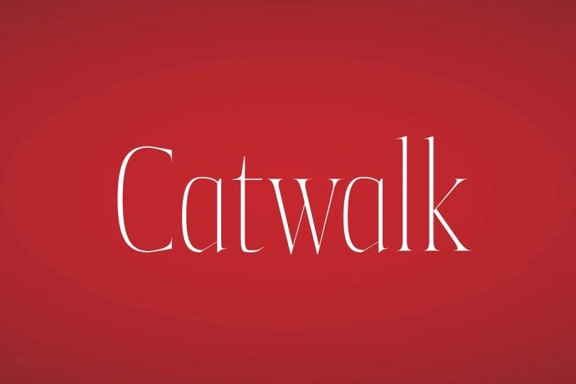 Catwalk [4 Fonts] | The Fonts Master