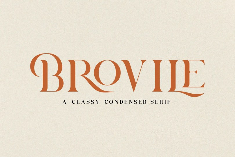 Brovile [1 Font]