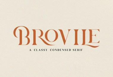Brovile [1 Font]