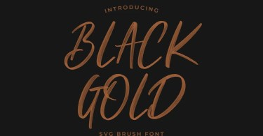 Black Gold [1 Font] | The Fonts Master