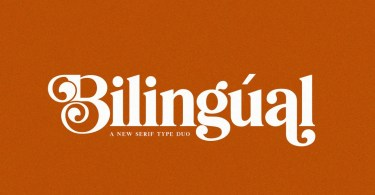 Bilingual Serif Duo [2 Fonts]