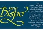 Bispo [2 Font] | The Fonts Master