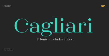 Cagliari Super Family [15 Fonts] | The Fonts Master