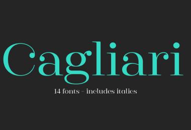 Cagliari Super Family [15 Fonts]