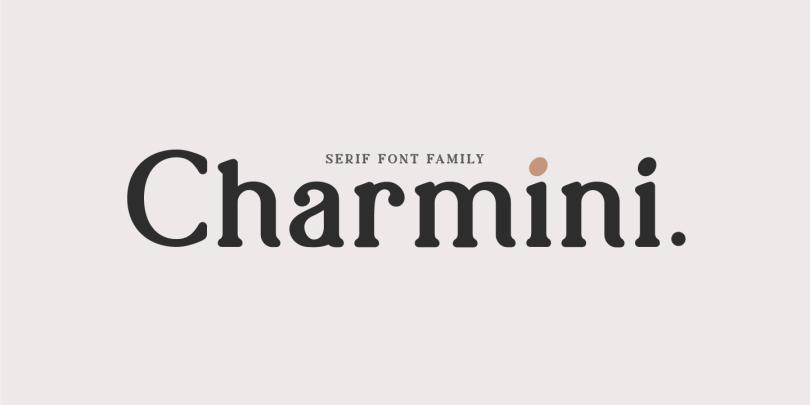 Charmini [18 Fonts] | The Fonts Master