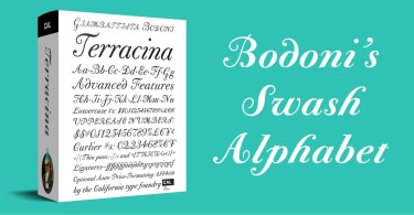 CAL Bodoni Terracina Super Family [6 Fonts]
