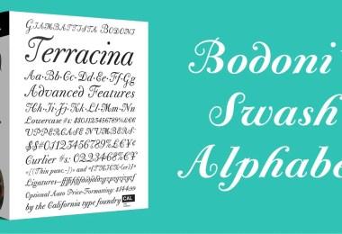 CAL Bodoni Terracina Super Family [6 Fonts]