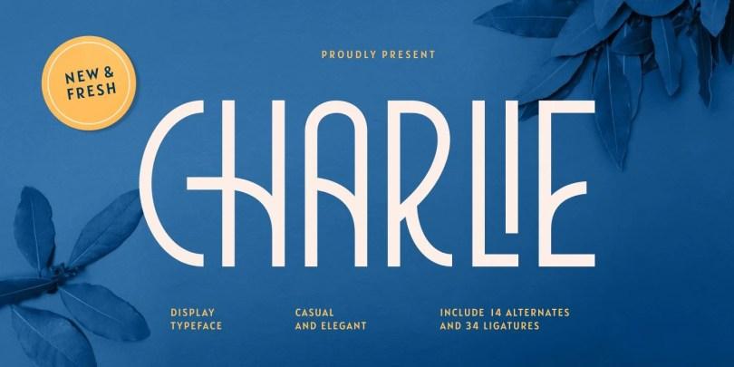 Charlie [1 Font]   The Fonts Master