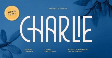 Charlie [1 Font] | The Fonts Master
