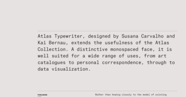 Atlas Typewriter Super Family [12 Fonts] | The Fonts Master