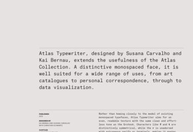Atlas Typewriter Super Family [12 Fonts]