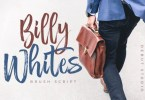Billy Whites [1 Font] | The Fonts Master